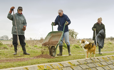 Become a work party volunteer with the Friends of Chichester Harbour