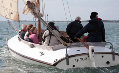 The Emsworth Oyster Boat - Terror