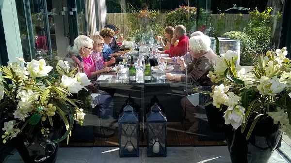 Members of the Friends of Chichester Harbour - visit to Tinwood Vinyard