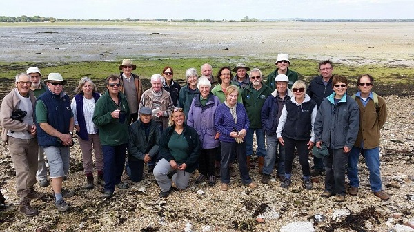 Beach clean Chidham - Photo by Paul Adams