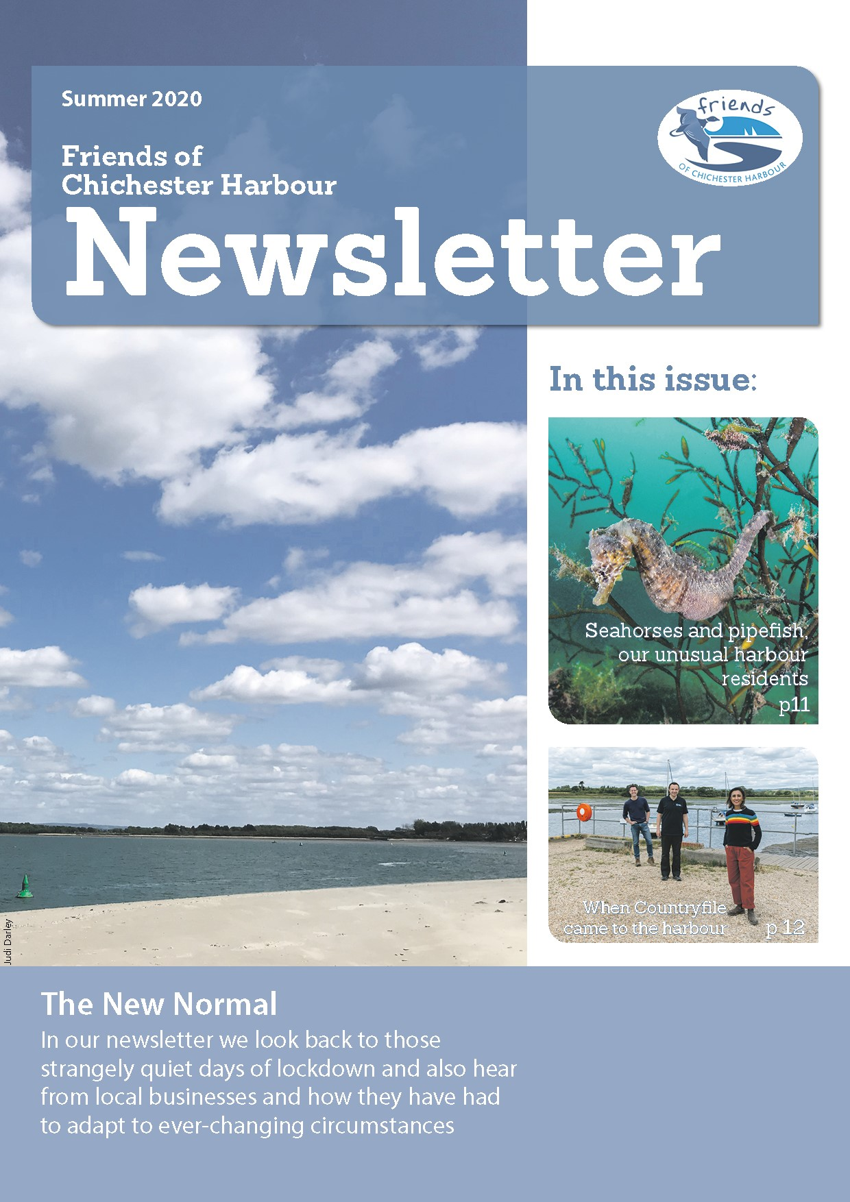 Summer Newsletter 2020, Friends of Chichester Harbour